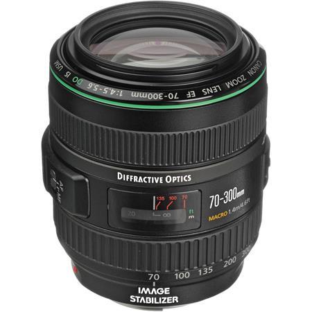 Canon EF f DO IS USM Autofocus Telephoto Zoom Lens USA 202 - 251