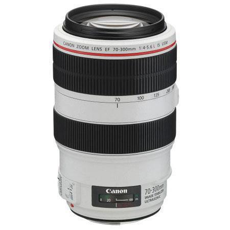 Canon EF f L IS USM Autofocus Telephoto Zoom Lens Grey Market 112 - 463
