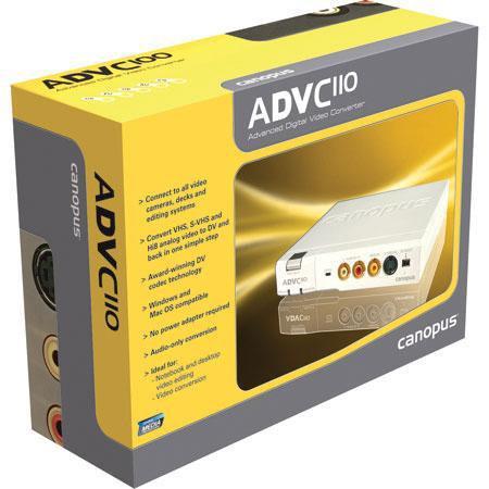 Grass Valley Canopus ADVC Analog to DV Converter Firewire Interface 176 - 183