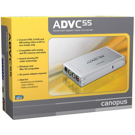 Grass Valley Canopus ADVC Analog to DV Media Converter 245 - 380