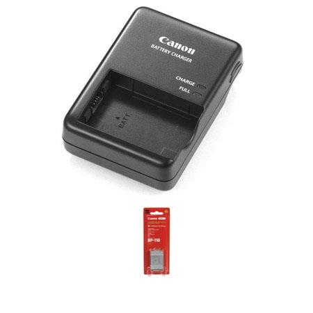 Canon BP mAh Lithium Ion Battery Pack Bundle Canon CG Battery Charger 259 - 130