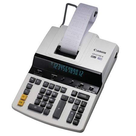 Canon CPDII High Speed Color Digit Desktop Commercial Printing Calculator 16 - 137