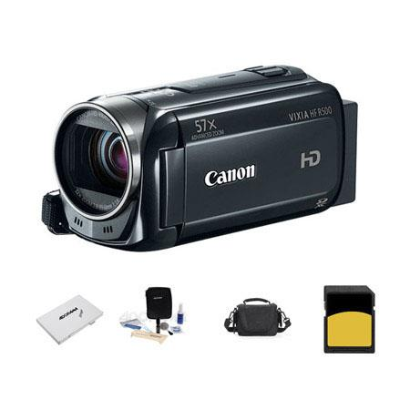 Canon VIXIA HF p Full HD Camcorder Bundle LowePro Carrying Case Lexar GB ClSDHC Memory Card Cleaning 18 - 350