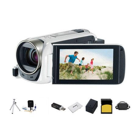 Canon VIXIA HF p Full HD Camcorder Bundle LowePro Carrying Case Lexar GB ClSDHC Memory Card Spare BP 96 - 639