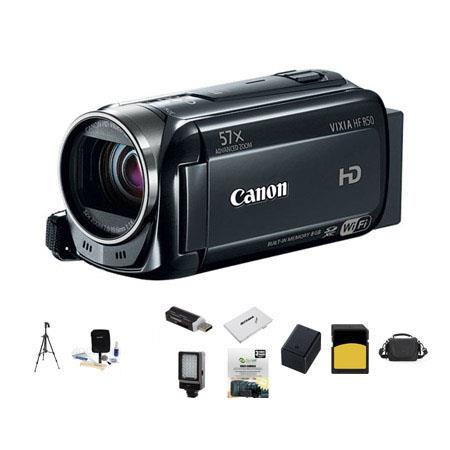 Canon VIXIA HF p Full HD Camcorder Bundle LowePro Carrying Case GB Class SDHC Memory Card Spare Bp B 108 - 306