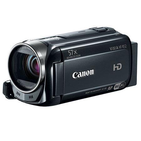 Canon VIXIA HF p Full HD Camcorder MPAdvancedOptical Zoom Touch Panel Built GB Memory USB Smart AUTO 91 - 593