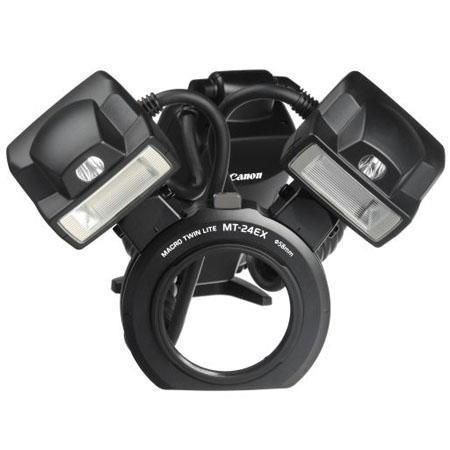 Canon MT EX Macro Twin Lite Flash Unit E TTL Grey Market 60 - 354