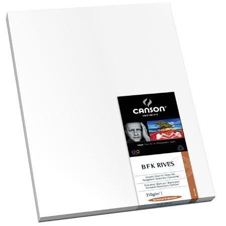 Canson B F K Rives Cotton Rag Smooth Bright Matte Inkjet Paper gsmSheets 159 - 471