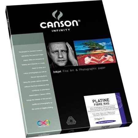 Canson Platine Fiber Rag Smooth Bright Matte Inkjet Paper gsmSheets 202 - 13