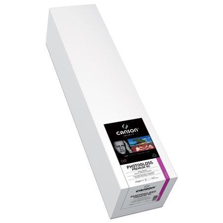 Canson PhotoGloss Premium RC High Gloss Ultra Photo Inkjet Paper gsmRoll 179 - 547