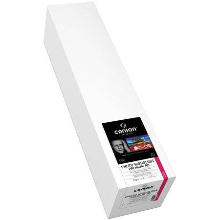 Canson Photo HighGloss Premium RC Ultra Smooth Inkjet Paper gsmRoll 190 - 386
