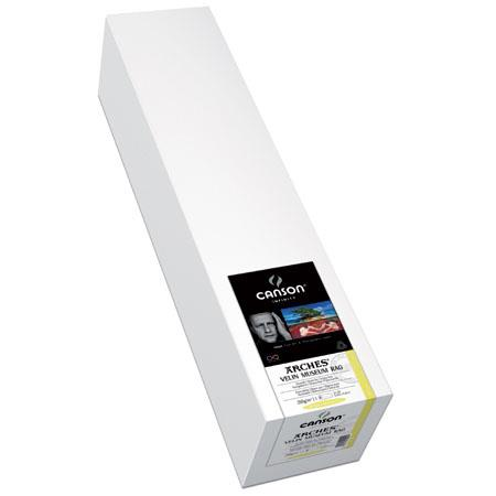 Canson Arches Velin Museum Cotton Rag Smooth Bright Matte Inkjet Paper gsmRoll 408 - 91