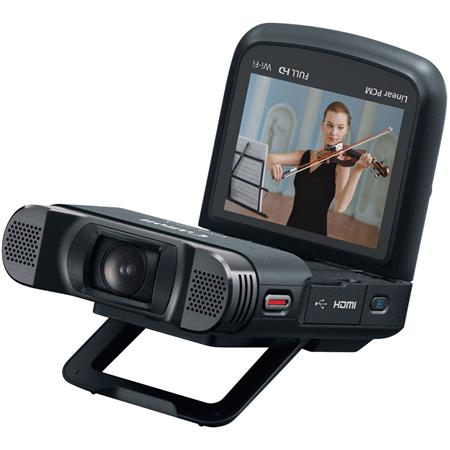 Canon VIXIA mini Full HD Camcorder MP f Fisheye Lens Tilting Touch Panel LCD Built Wi Fi Microphone  196 - 780