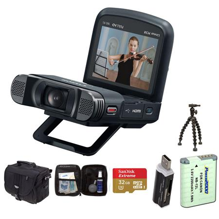CANON VIXIA MINI X Full HD Camcorder Bundle Lowepro REZO Compact Case GB Class SDHC Memory Card Sunp 117 - 422