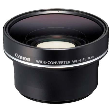 Canon WD H Wide Converter High Definition CamcorderMagnification 46 - 107