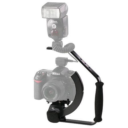 Custom Brackets Digital PRO E Lightweight Rotating Camera Bracket Kit Digital SLR Film Cameras 180 - 693