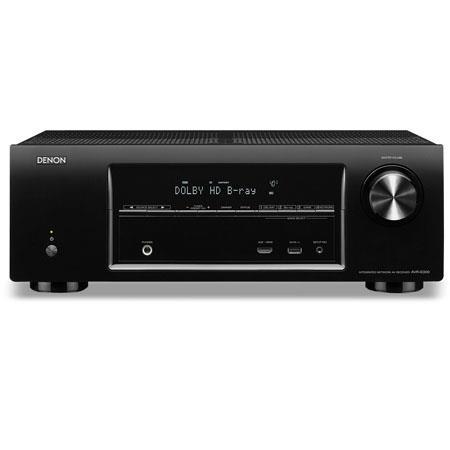Denon AVR E Channel Network Home Theater Receiver mV Input Sensitivity kohms Impedance  31 - 547