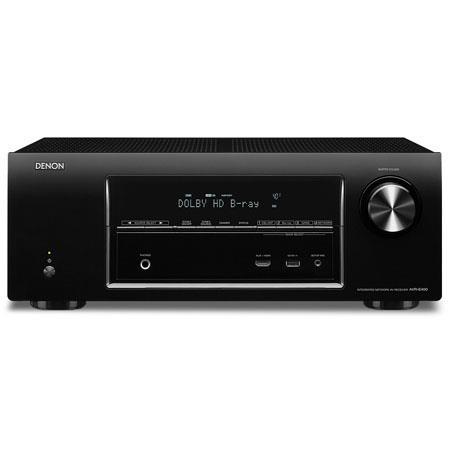 Denon AVR E Channel Network Home Theater Receiver mV Input Sensitivity kohms Impedance 172 - 589