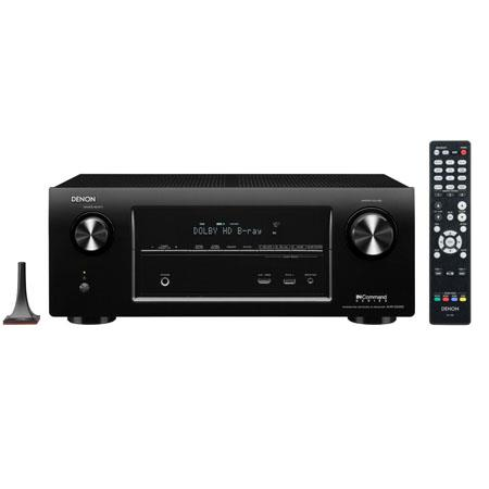 Denon AVR X Ch Home Theater Receiver Apple Airplay D and K Pass Through Technology W Power Output AM 70 - 60