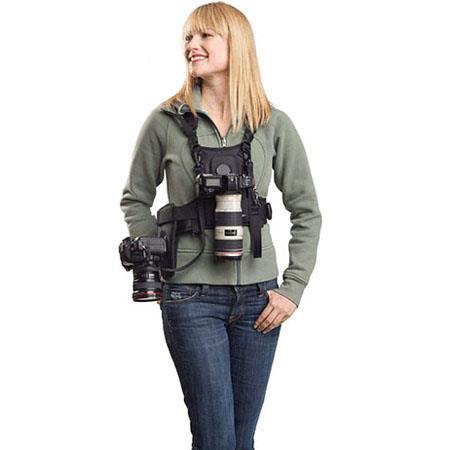 Cotton Carrier Vest System Cameras Side Holster  128 - 130