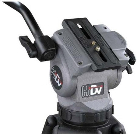 Cartoni HiDV Video Tripod System HiDV Fluid Head Ball Base Supports lbs 211 - 512