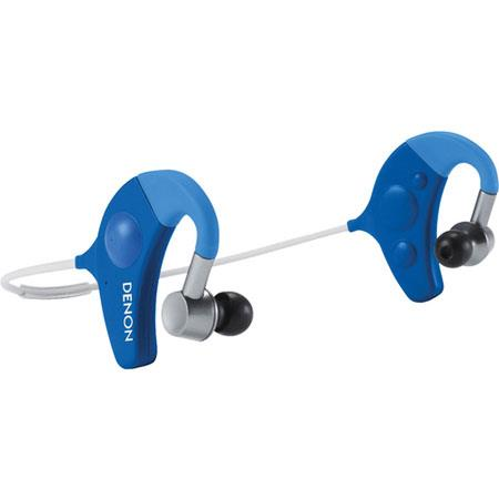Denon Exercise Freak AH W In Ear Headphones Bluetooth Wireless Connectivity Hz Frequency Response Bl 112 - 557