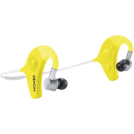 Denon Exercise Freak AH W In Ear Headphones Bluetooth Wireless Connectivity Hz Frequency Response  112 - 557