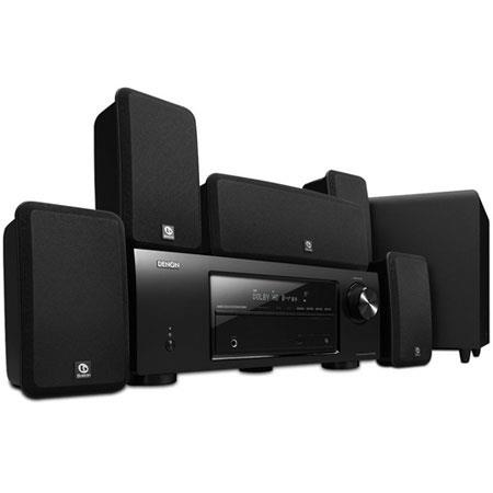 Denon DHT BA W Channel Home Theater System Boston Acoustics Premium Speaker System 155 - 117