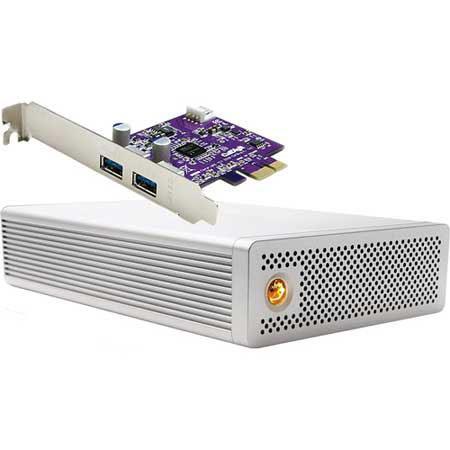 CalDigit TB AV Drive External Hard Drive SuperSpeed Series PCI Express Card 273 - 477