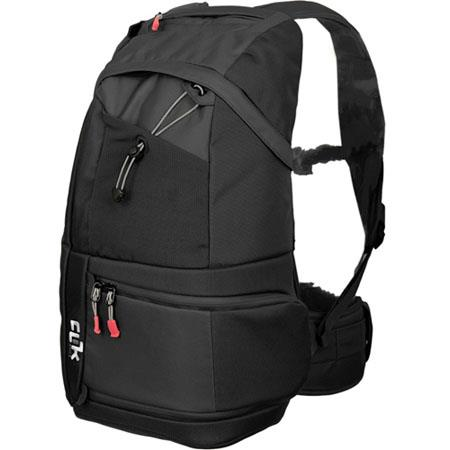 Clik Elite CEBK Probody Sport Photo Backpack Holds Pro Body DSLR Cameras Short Medium Lens Flash and 261 - 167