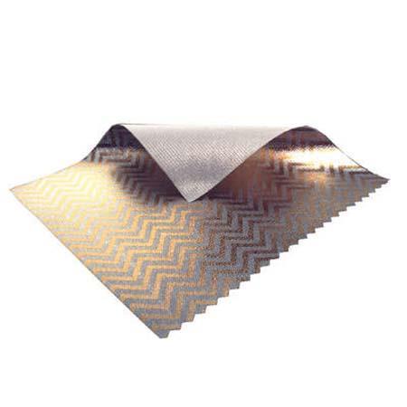 Sunbounce Mini TextileZebra Gold Silver Backing 118 - 168