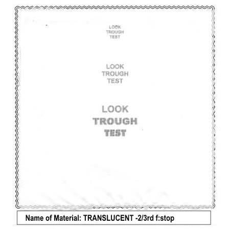 Sunbounce SunSwatter Seamless Pro TextileTranslucent Stop Lightuction 182 - 506