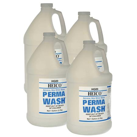 Heico Perma Wash Archival Film and Paper Pre Wash Gal Makes Gallons Case of Total makes Gallons 101 - 656