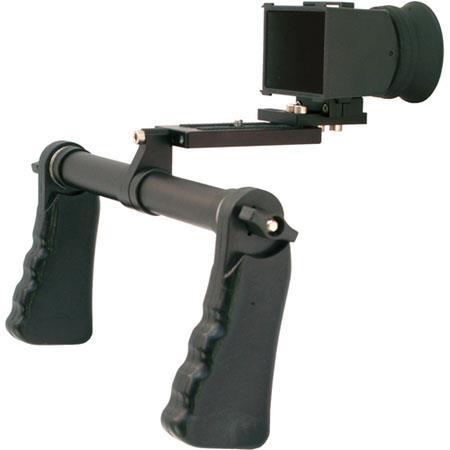 Cavision Dual Handgrip Viewfinder Package DSLRD MII Cameras LCD Viewfinder Rubber Adapter Connector  272 - 36