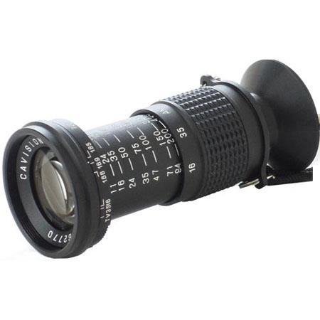 Cavision Telescope Type Micro Directors Viewfinder Dial In Apertures Range Equivalent 291 - 288