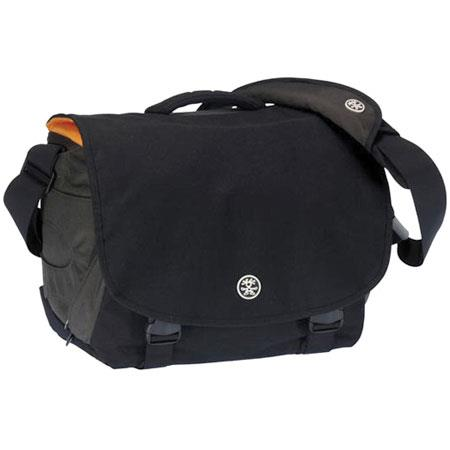 Crumpler Brazillion Dollar Home PhotoLaptop Bag SLR Bodies Accessories Gun MetalOrange with FREE Cru 424 - 297