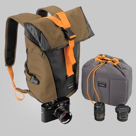 Crumpler Local Identity L Backpack Laptop BeechBlackOrange 63 - 18