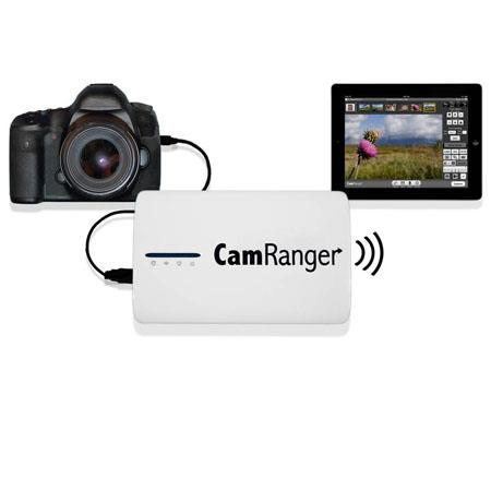 CamRanger Remote Nikon Canon DSLR Camera Controller Wireless Camera Control from iPad iPhone iPod To 261 - 497