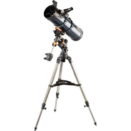 Celestron Astromaster EQ MD Newtonian Reflector Telescope f Focal Length German Equatorial Mount RA  78 - 701