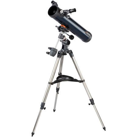 Celestron Astromaster EQ Newtonian Reflector Telescope f Focal Length German Equatorial Mount 36 - 405