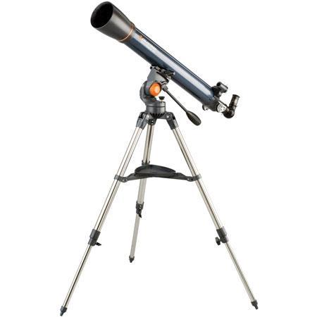 Celestron Astromaster AZ Refractor Telescope f Focal Length Altazimuth Mount 128 - 130