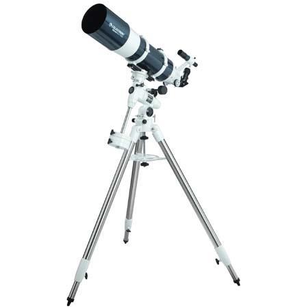 Celestron Omni XLT Refractor Telescope CG German Equatorial Mount Focal Length 95 - 679