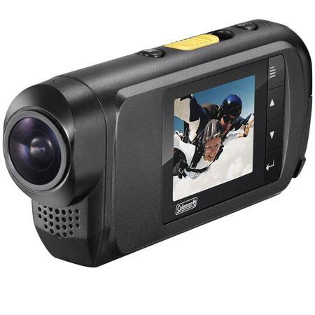 Coleman Conquest Full i HD fps Helmet Action Camera MP LCD Display HDMIUSBMic 305 - 57