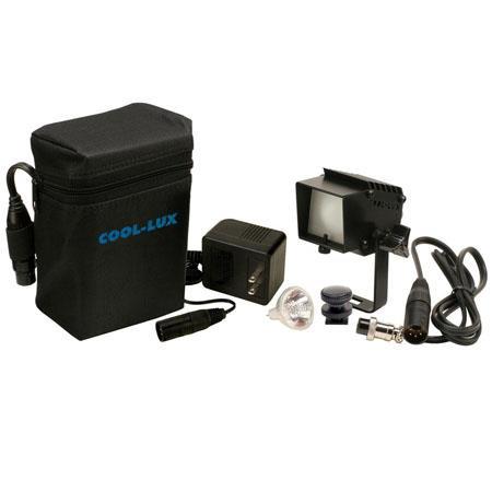 Cool LuLK Digi LuOn Camera Light Kit Watt Dimmer Pin XLR Connector Shoe Mount Battery and Charger 38 - 130