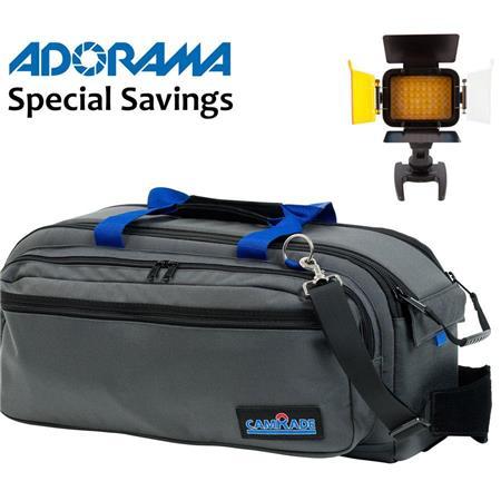 CamRade CB SINGLE I Cambag Carring Case Professional Camcorders Up To Length Bundle Ledpro Lightweig 1 - 309