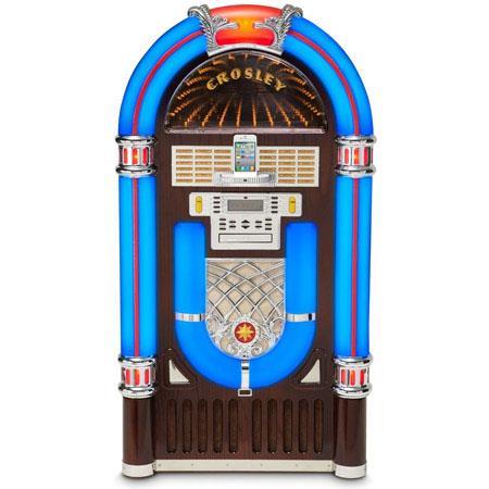 Crosley Radio CR i CH iJuke Deluxe Nostalgic Full Size Jukebo 158 - 289