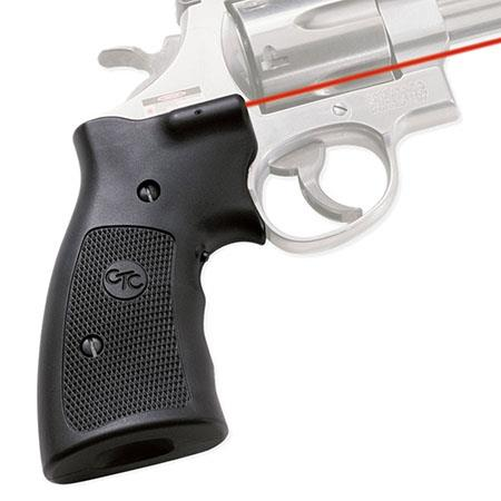 Crimson Trace Polymer Lasergrip Set Front Button Activation the Smith Wesson K L and N Frame Series  115 - 12