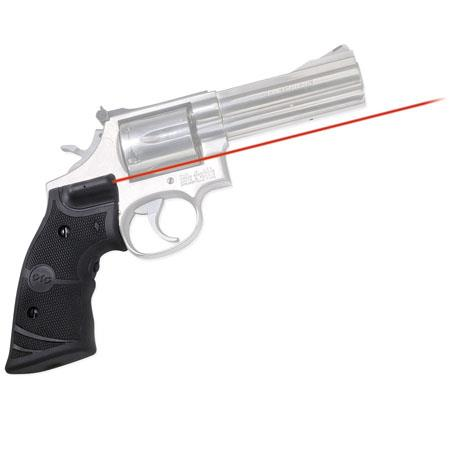 Crimson Trace LG Lasergrips Laser Sight Smith Wesson N Frame Round Butt Revolvers 99 - 493