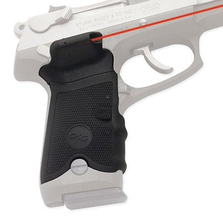 Crimson Trace Rubber Overmold Lasergrip Set Front Activation the Ruger P Series Semi Automatic Pisto 166 - 385
