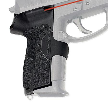 Crimson Trace Rubber Overmold Lasergrip Set Dual Side Activation the Sig Sauer Sig Pro SP Series Sem 62 - 193